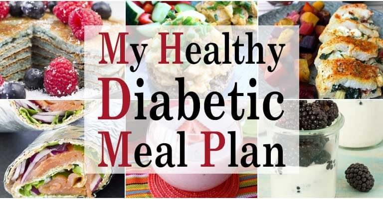 My Healthy Diabetic Meal Plan