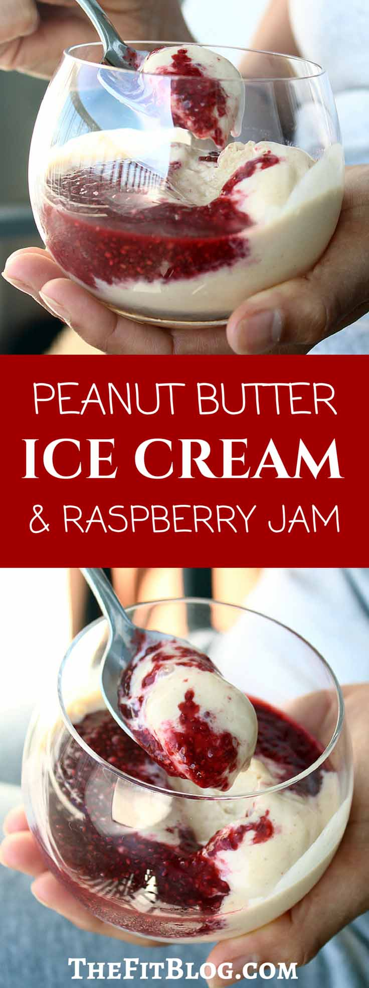 Low-carb, low-fat, high-protein peanut butter ice cream. Delicious! The perfect healthy fitness snack for hot summer days or after a good workout.