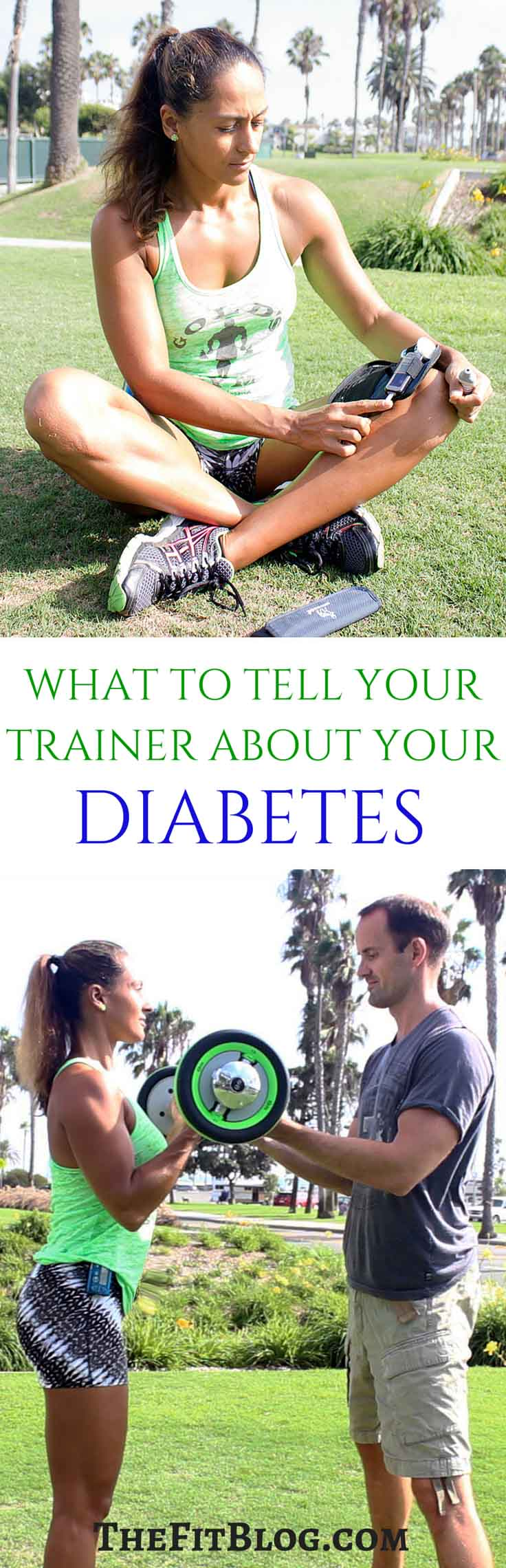 What To Tell Your Personal Trainer About Your Diabetes – A list of the most important things to tell your trainer about your diabetes before you start working out with him or her.