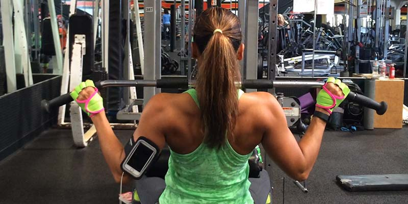 Christel's muscle building workout routine