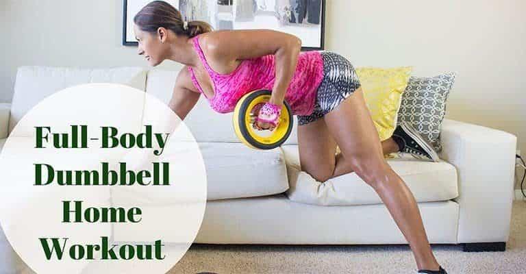 Full-Body Dumbbell Home Workout