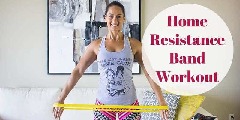 Home Resistance Band Workout