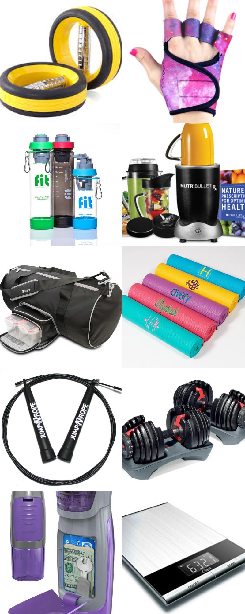 The top 15 Best Fitness Gifts! Cool fitness gadgets, useful equipment, and stylish accessories.