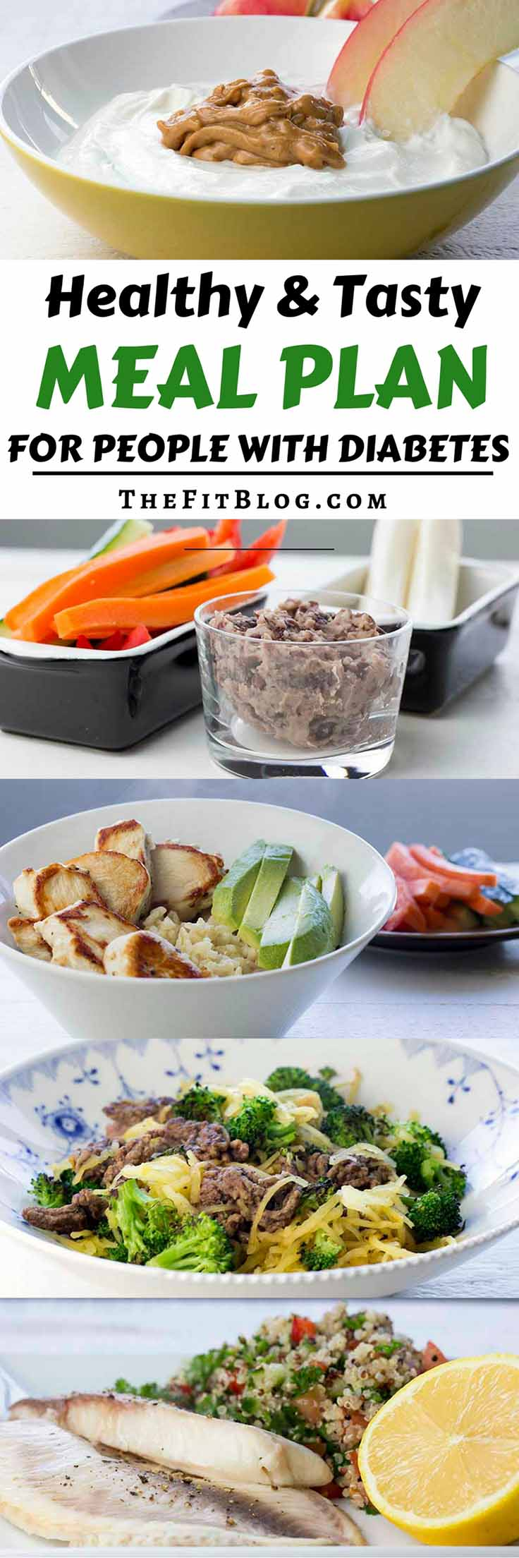 Healthy & Tasty Meal Plan for people with diabetes   high protein   low carb   sugar free   gluten free   diabetes friendly  