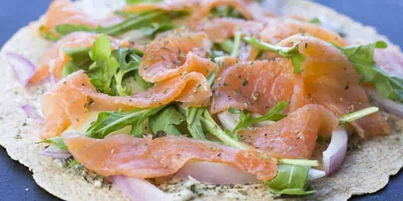 smoked salmon and cream cheese wraps  diabetes strong