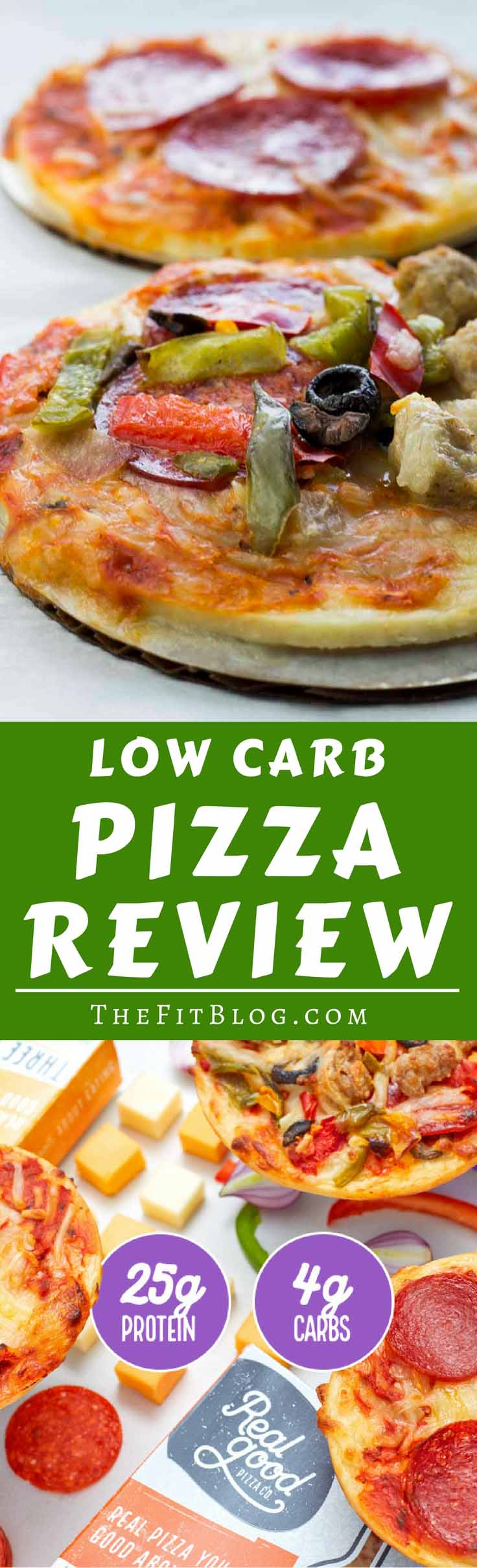 Can you really get a low-carb pizza that tastes great and is made from healthy ingredients? Yes, now you can and it's awesome!!
