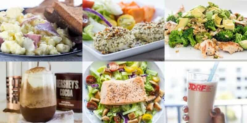 Strong With Diabetes Meal Plan Week 4