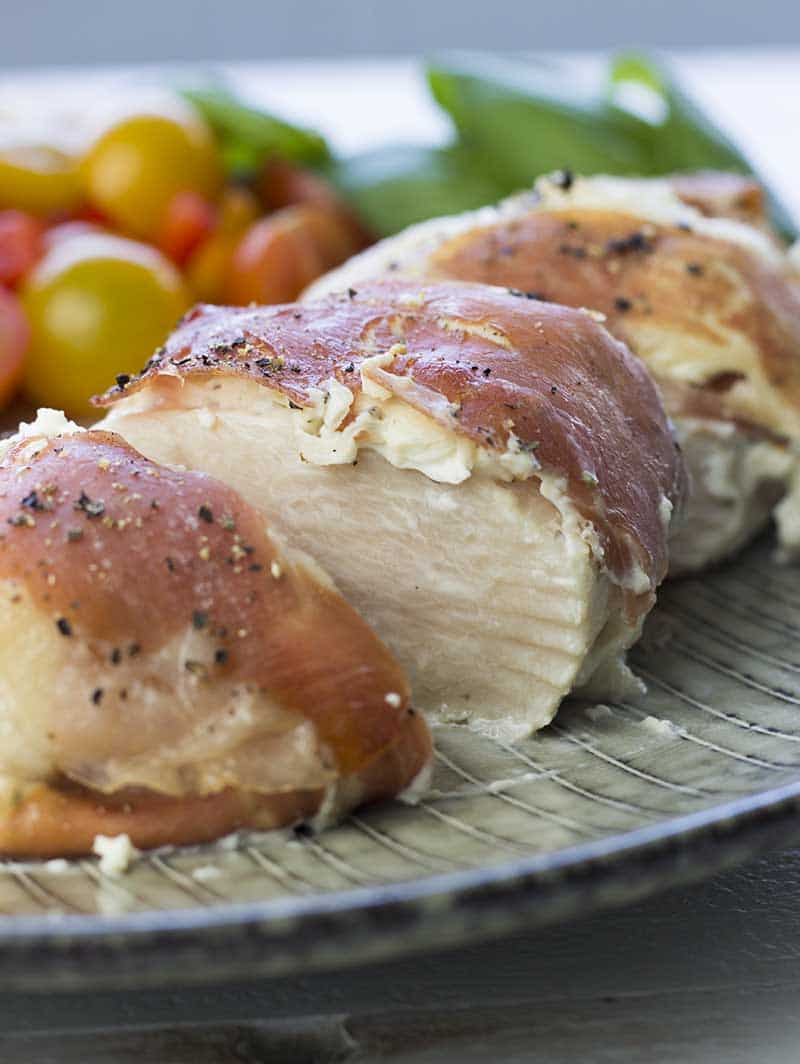 chicken breast with cream cheese