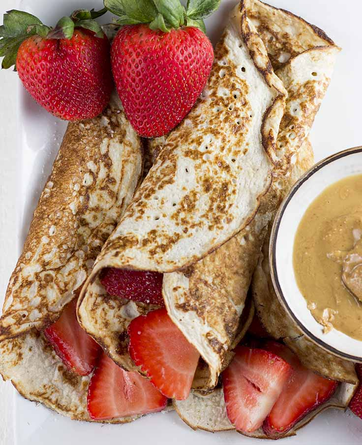 Low-Carb Cottage Cheese Pancakes