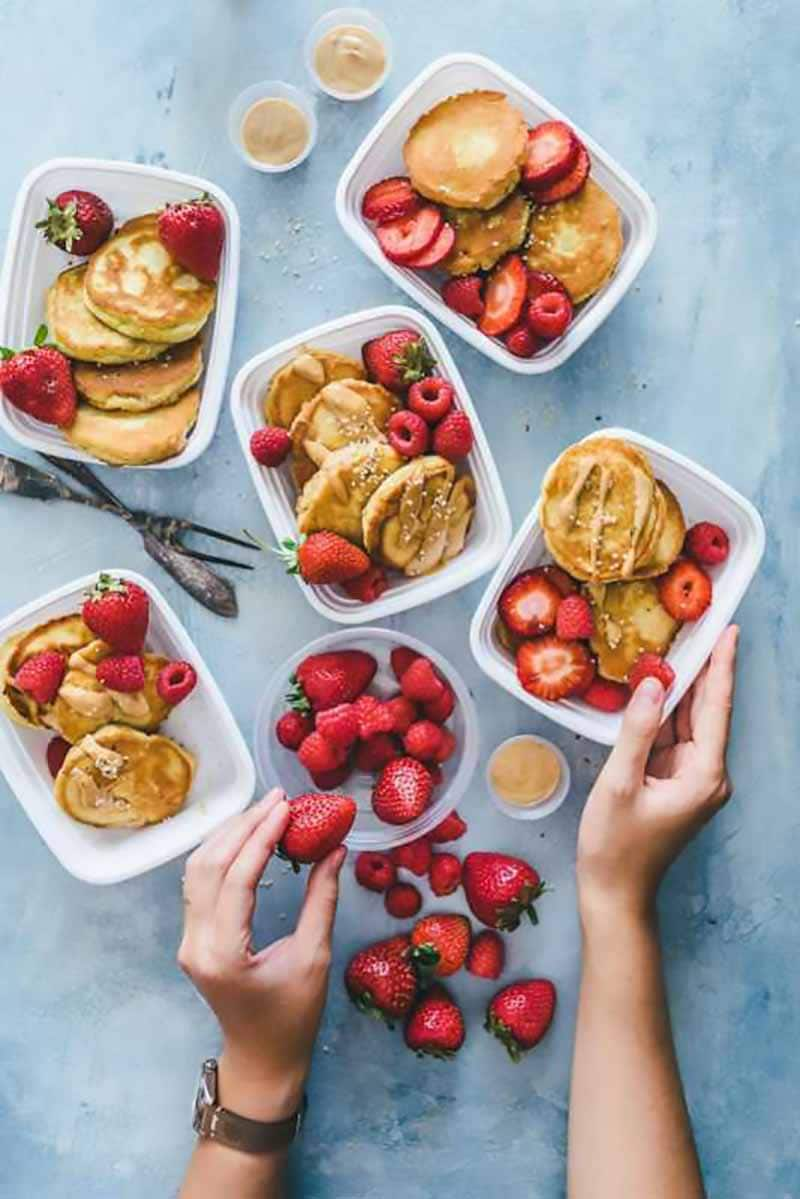 Meal Prep Pancakes