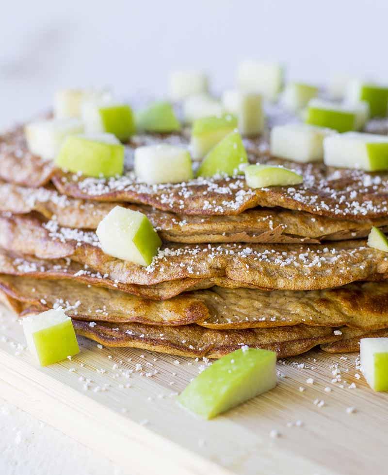 Healthy High-Protein Pumpkin Pancakes