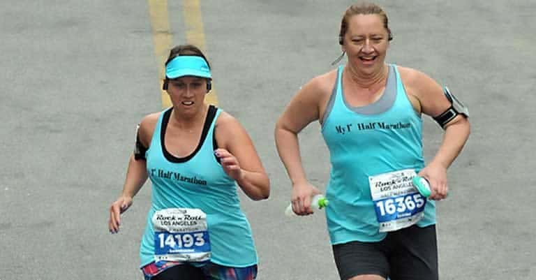 Running a half marathon with diabetes